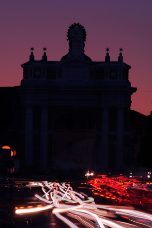 Santarcangelo di Romagna. Arco Ganganelli
