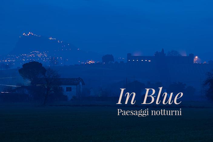 In Blue. Paesaggi notturni