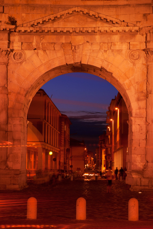Rimini. Arco d'Augusto