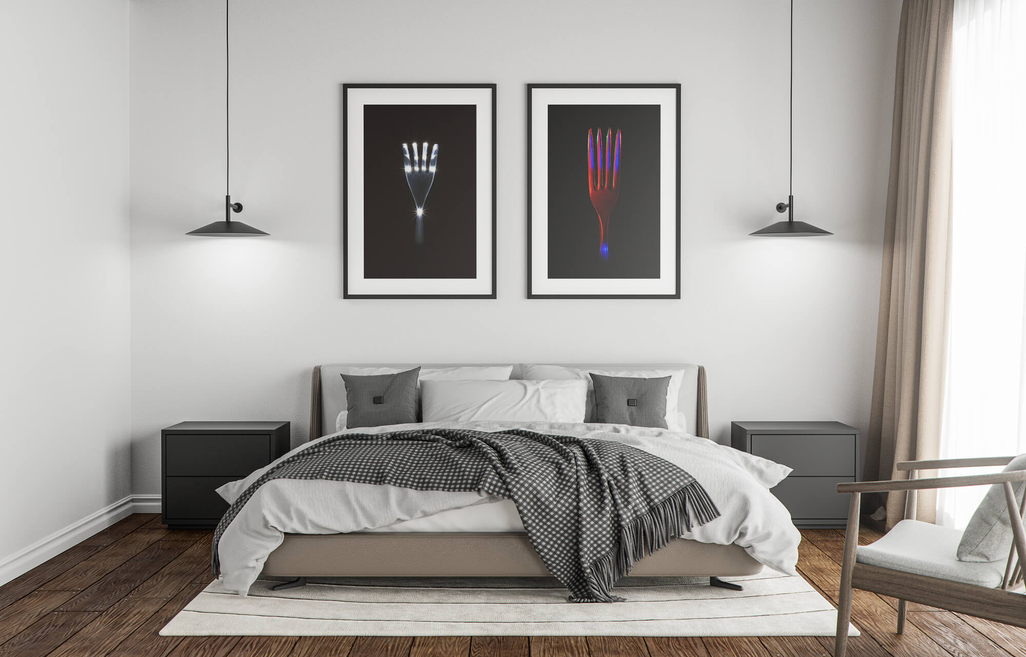 Limited edition print The Fork #3 and #11